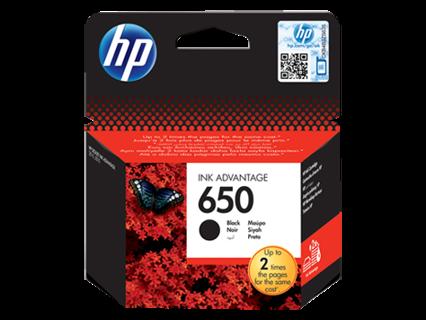 Oryginalny tusz HP 650 CZ101AE - czarny do HP Deskjet Ink Advantage 1015 1515 2515 3515 3545 4515 4645 - 6.5ml