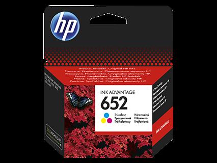 Oryginalny tusz HP 652 (F6V24AE) kolor (trójkolorowy) do HP Deskjet Ink Advantage 1115 2135 2136 3635 3775 3785 3835 4535 4675 - 5ml