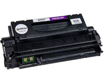 Toner DDPrint odpowiednik Q7553X do HP LaserJet P2015 P2015d P2015dn M2727 7K stron Premium DD-H53XDP