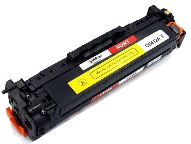 Zgodny z CE412A toner Żółty do HP LaserJet M351 M375 M451 M475 2600 stron Nowy DD-Print CE412ADNY