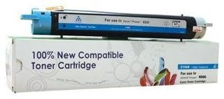 Toner Cartridge Web Cyan Xerox 6300 zamiennik 106R01082