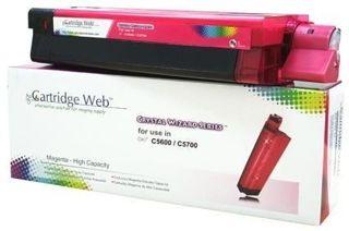 Toner Cartridge Web Magenta OKI C5600 zamiennik 43381906