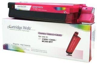 Toner Cartridge Web Magenta OKI C5850 zamiennik 43865722