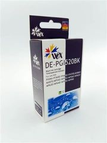 Tusz Wox Black CANON PGI 520BK z chipem zamiennik PGI520BK