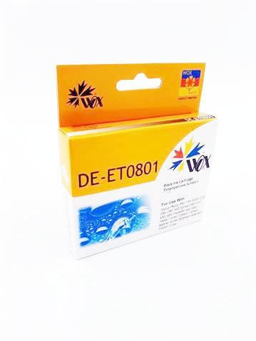 Tusz Wox Black EPSON T0801 zamiennik C13T08014010