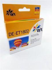 Tusz Wox Cyan EPSON T1802 zamiennik C13T18024010