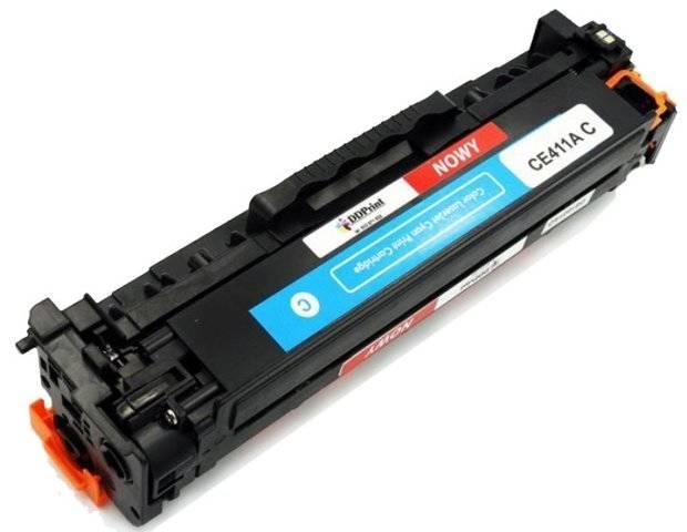 Zgodny z CE411A Toner do HP LaserJet M351 M375 M451 M475 Cyan 2,6k DD-Print DD-H411ACN