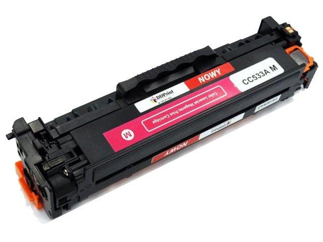 Zgodny z CC533A toner HP Color Laserjet CP2025 CM2320 / 2800str. czerwony Nowy DD-Print CC533ADNM